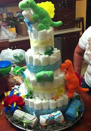 halloween themed diaper cakes dinosaur diaper cake gettin u0027 crafty pinterest diapers
