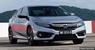 driven 2016 honda civic 1 5l vtec turbo malaysian review