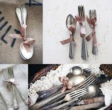 wedding silverware unique wedding decor ideas