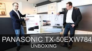 Panasonic Help Desk Panasonic Tx 50exw784 Unboxing Thomas Electronic Online Shop