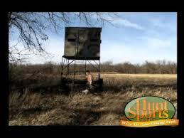 Deer Hunting Tower Blinds Deer Hunting Blind Theblynd Shooting Tower Portable Hunting