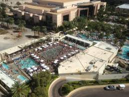 Mgm Grand Floor Plan Las Vegas View From Our 15th Floor Room Tower 1 Of Wet Republic Picture