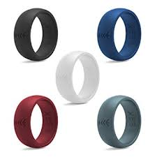 mens rubber wedding bands silicone wedding ring for rubber wedding band