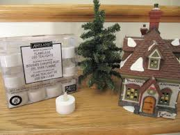 battery powered house lights sew many ways cordless lights for christmas village