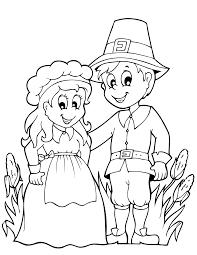 thanksgiving coloring pages printables pilgrims pilgrim