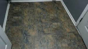 Pictures Of Allure Flooring by Allure Trafficmaster Plank Flooring Review Youtube