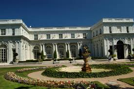 boston mansions rosecliff mansion at bellevue avenue in newport
