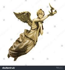 statue greek goddess vector illustration stock vector 454347277