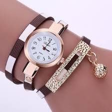 luxury leather bracelet images Leather bracelet casual women luxury brand quartz watch relogio jpg