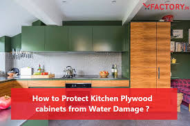 kitchen cabinet sink used how to protect kitchen plywood cabinets from water damage