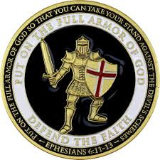 armor of god challenge coin usa military medals usamm