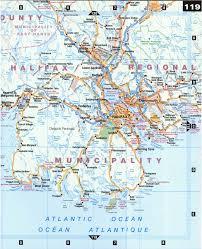 Map Of Nova Scotia Halifax And Mahone Bay
