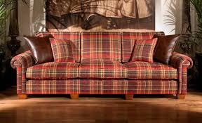 plaid living room furniture luxury ideas plaid furniture plantation 3 seater duresta sofa new
