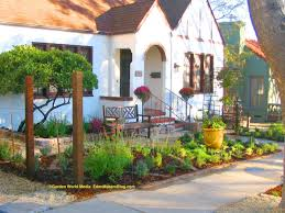 small front yard landscaping rustic modern house design with stone