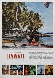 hawaii travel bureau 1963 hawaii travel ad puʻuhonua o hōnaunau national