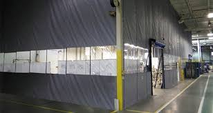 Industrial Curtain Wall Zoneworks Scl Non Insulated Fabric Curtain Walls Rite Hite