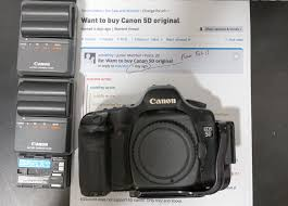 want to buy canon 5d original for sale and wanted forum digital