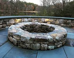 Outdoor Fireplace by Outdoor Fireplace Massachusetts Ma Landscape Depot