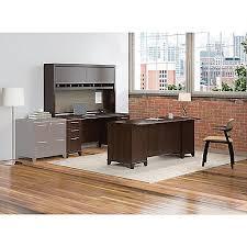 Bush Office Desk Bush Business Furniture Enterprise 72 W Office Desk With Hutch And