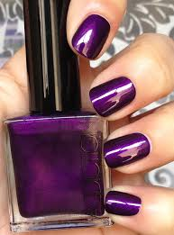 deep purple color so lonely in gorgeous smoke on the polish addiction deep purple