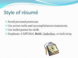 Accomplishment Statements For Resume Seattle Pacific University The Center For Career U0026 Calling Ppt