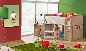 lit enfant bureau lit enfant combine bureau 90x200 gum
