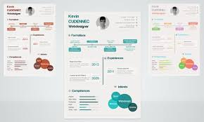 infographic resumes 40 best free resume templates 2017 psd ai doc