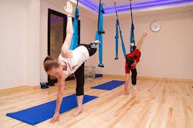 swing yoga class in dubai fitness first uae