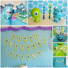 monsters inc cake toppers monsters inc 2nd birthday party stitch and pink