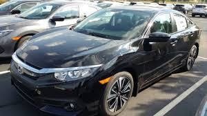 honda civic 2016 black 2017 black honda civic 4d sedan 6161 youtube