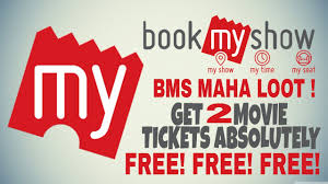 bookmyshow dhule bms mega loot get 2 movies tickets absolutely free very simple