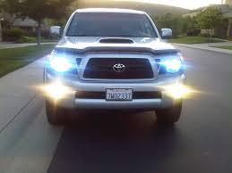 amazon com ijdmtoy complete set yellow lens fog lights foglamp yellow foglights tacoma world