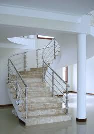 Favorito Escada de Mármore Travertino   Marmoraria Só Revest @DF68