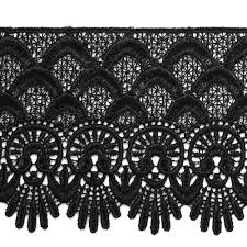 lace ribbon by the yard black venise lace ribbon trim for bridal apparel