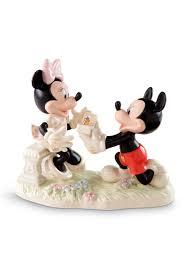 lenox mickey u0026 minnie dream proposal figurine online only belk