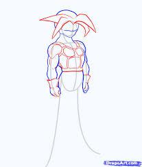 3 draw super saiyan trunks
