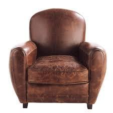 Vintage Leather Club Chair Poltrona Club Vintage Marrone Oxford Living Room Pinterest