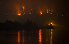 Wildfire Ash Car Wash by Fire Or Volcano Oregon Blaze Sparks Eruption Comparisons Ntd Tv
