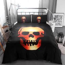 Nightmare Before Christmas Bedroom Set by 3d 100 Modal Halloween Bedding Set Bedding Duvet Cover Set Skull