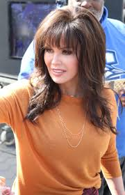 how to cut hair like marie osmond marie osmond at extra in hollywood 03 jpg 1470 2283 marie