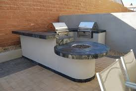 Kitchen Island Kits Outdoor Breathtaking Outdoor Kitchen Island Completed With Meat