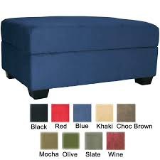 Black Microfiber Ottoman Microfiber Storage Bench Appealing Microfiber Storage Bench Royal