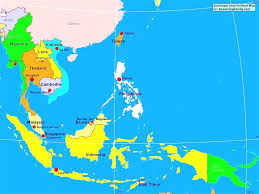 Map Of East And Southeast Asia by Satellite Views And Political Maps Of South Prepossessing South