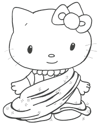 cute kittens coloring page free download