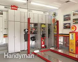 How To Build Garage Storage Lift by Dream Garage Double Decker Car Storage Family Handyman