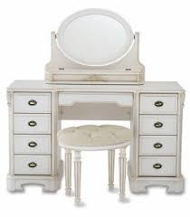 Makeup Table Antique White Vanity Table Foter