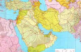 middle east map interactive middle east map