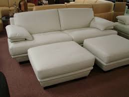 White Leather Sofa Bed White Leather Sofa For Elegant Living Room Traba Homes