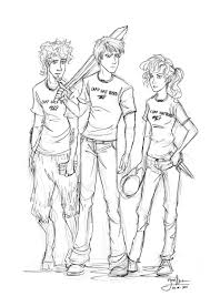percy jackson coloring pages ngbasic com