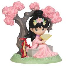 mulan figure precious moments shopdisney